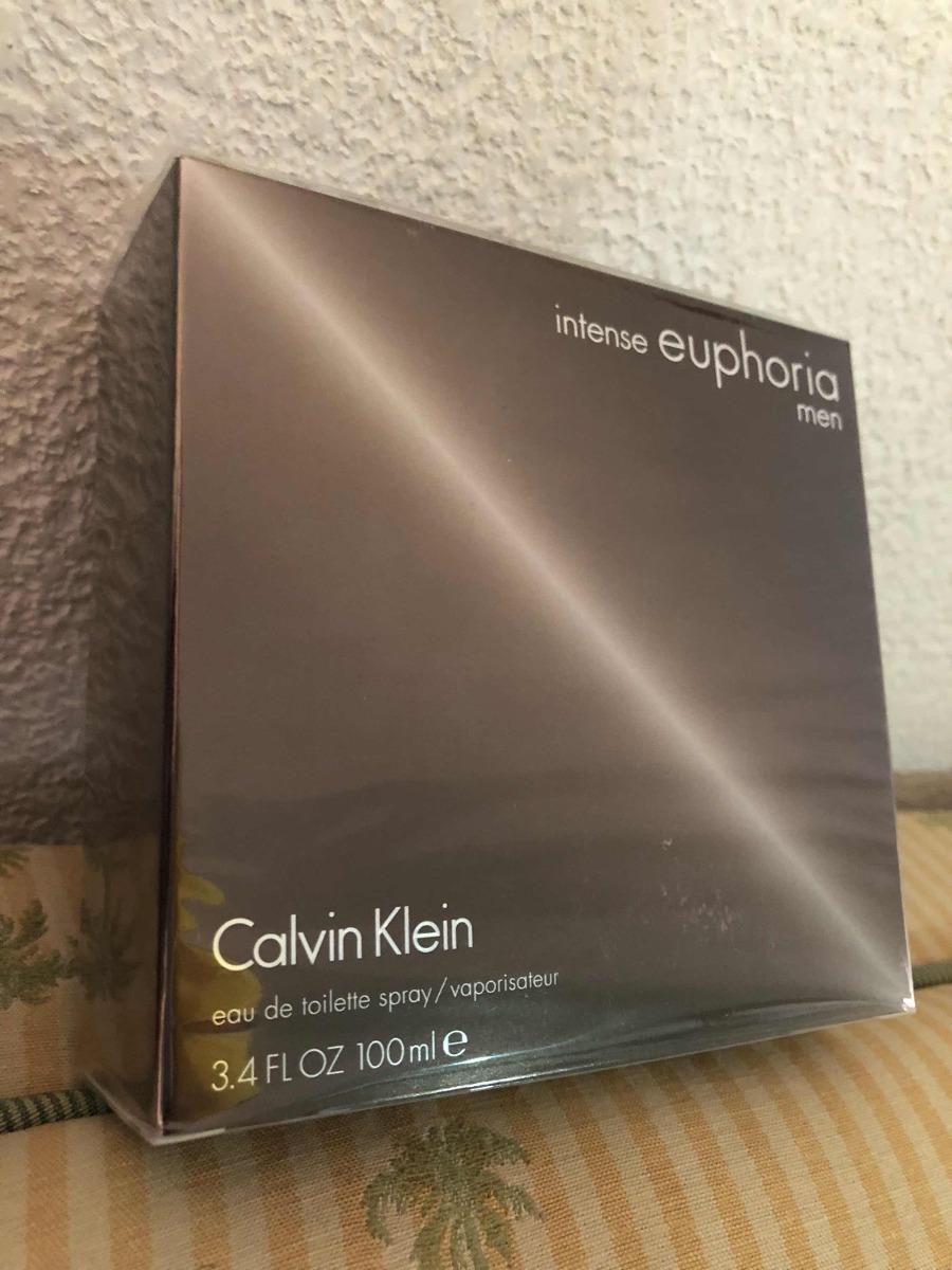 Calvin Klein Euphoria Intense Men 100 Ml $ Envio Gratis $ - $ 149.000 en Mercado Libre
