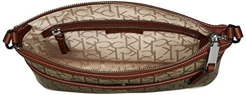 85ea27d74a Calvin Klein Hudson Signature Crossbody Flat Pack - $ 674.900 en ...