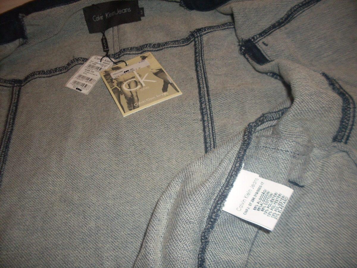 Jaqueta Calvin Klein - Premium Stoned Blue Jeans - Slim Fit - R  449 ... 0dd16d29188