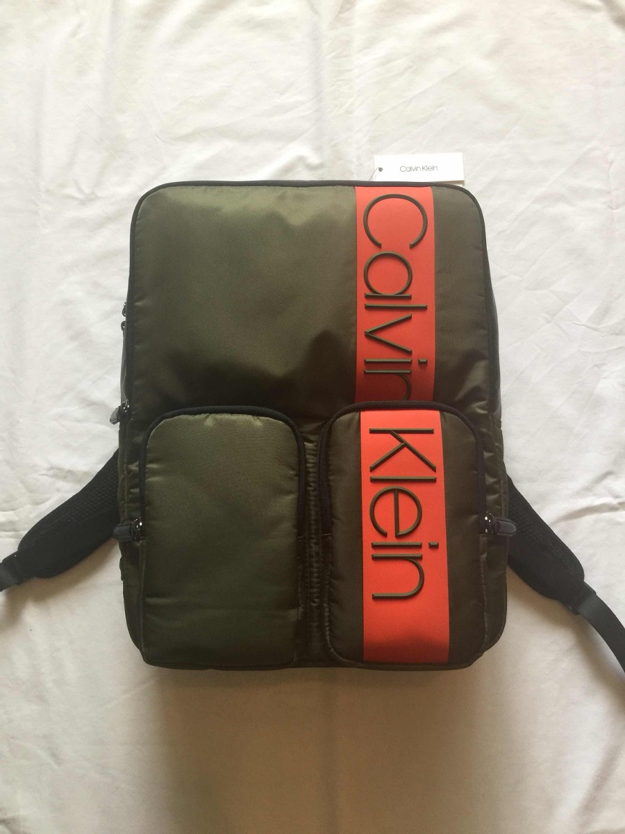 Calvin Mochila Backpack Militar Verde Klein SUpMqzV