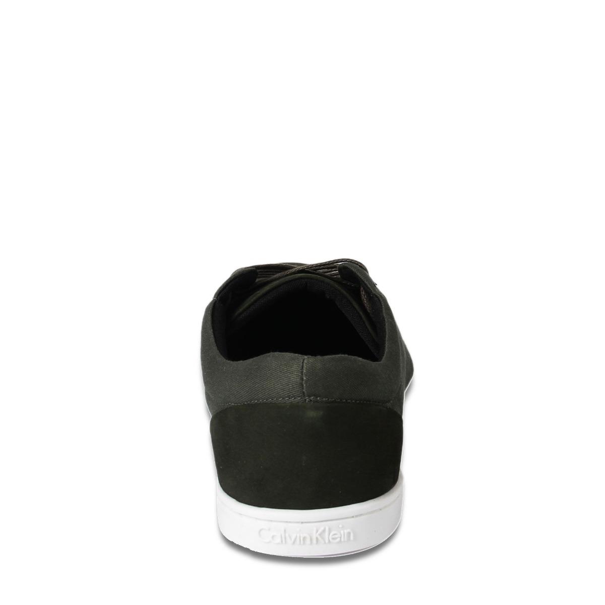 54d9f8f4cda Sapatênis De Couro Da Marca Calvin Klein. Novo Na Caixa. - R  229