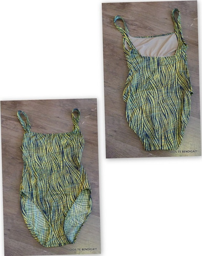 calvin klein traje de baño vintage talla m