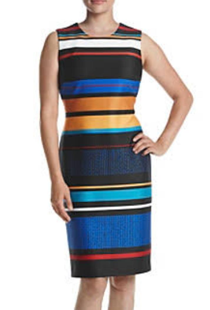 cf0c27e5619 klein talla 12 zoom multicolor vestido mujer calvin Cargando AgHdAw