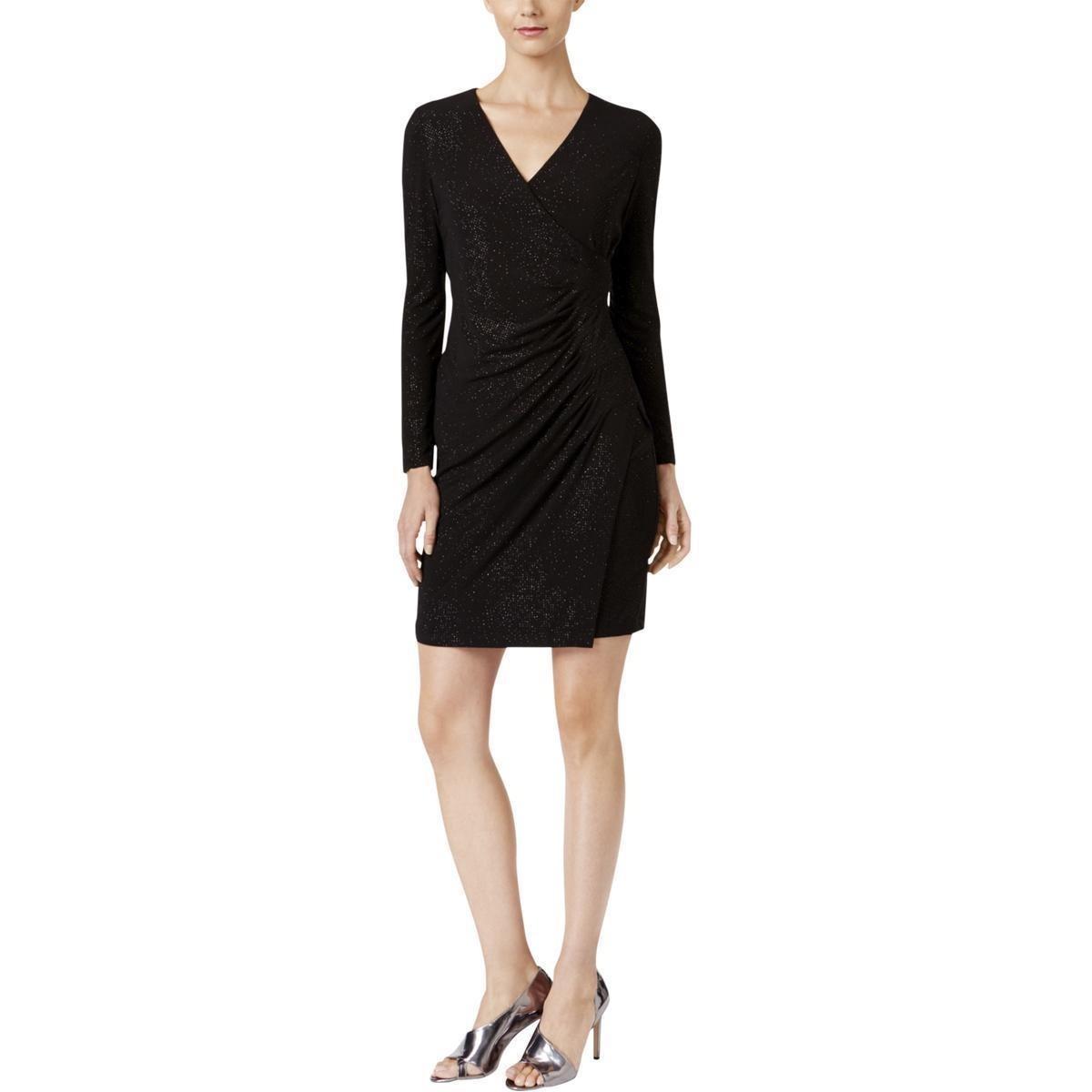 Vestido negro de calvin klein