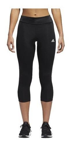 calza 3/4 capri adidas response dama entrenamiento running