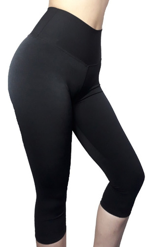 calza 3/4 de supplex crossfit fitness running levanta cola