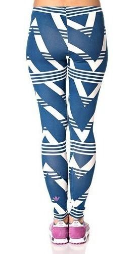 calza adidas native allover print mujer