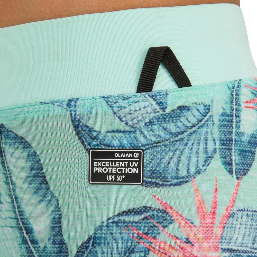 309338908 Calza Anti-uv De Surf 500 Júnior Verde menta -   1.812