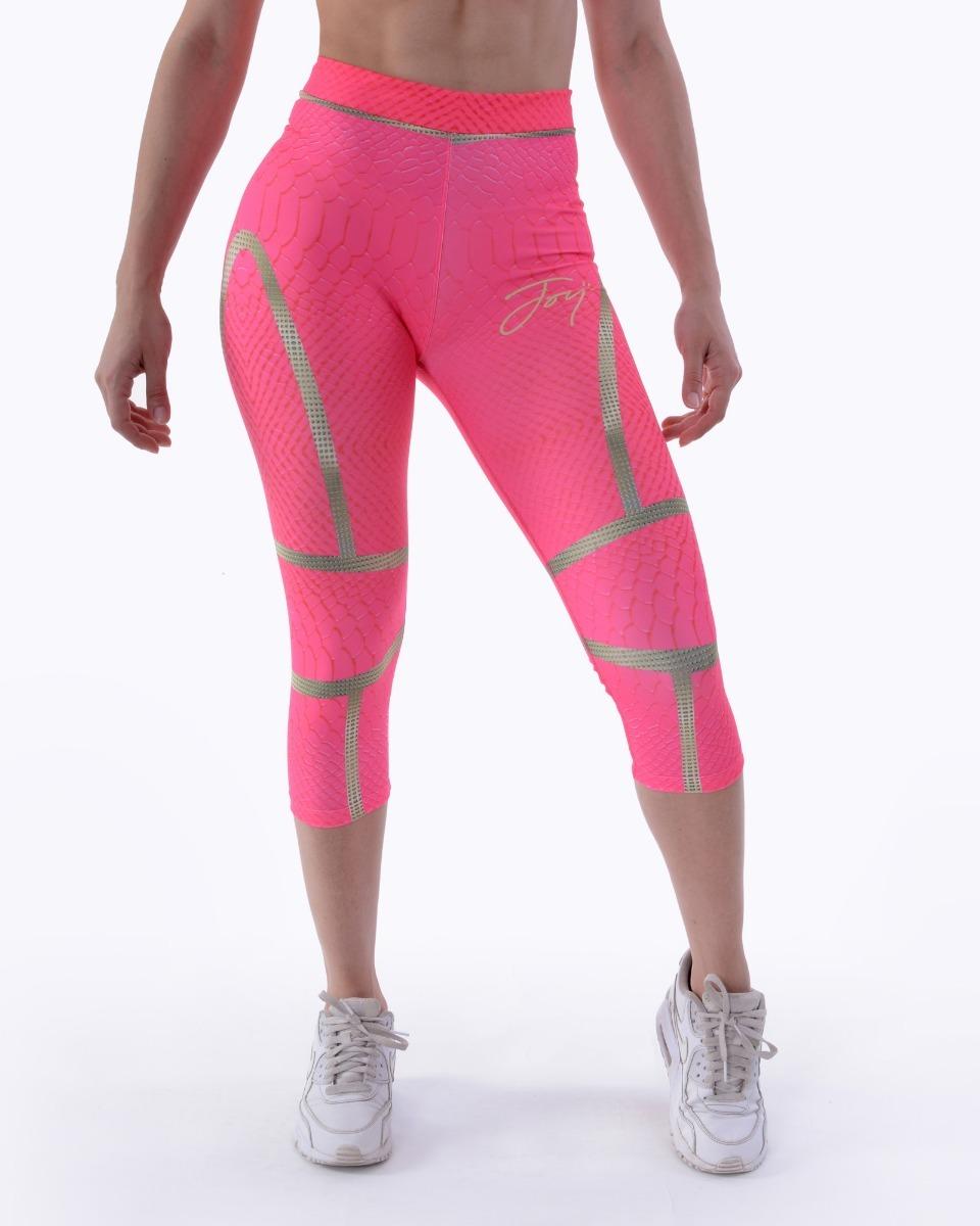 sitio de buena reputación 87c45 fcc05 Calza Capri Deportivo Joy Pink Snake Mujer Ropa Sport