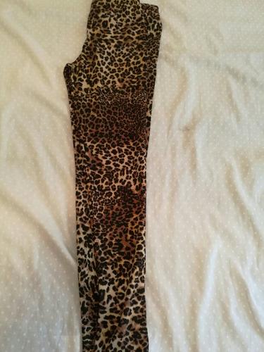 calza chupin animal print muy cher kosiuko delaostia