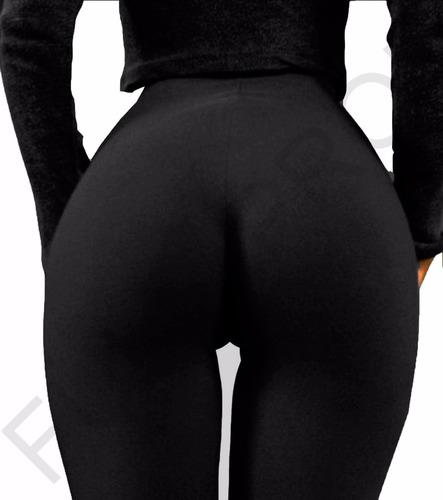 calza chupin tiro alto supplex negro reforzado varios talles