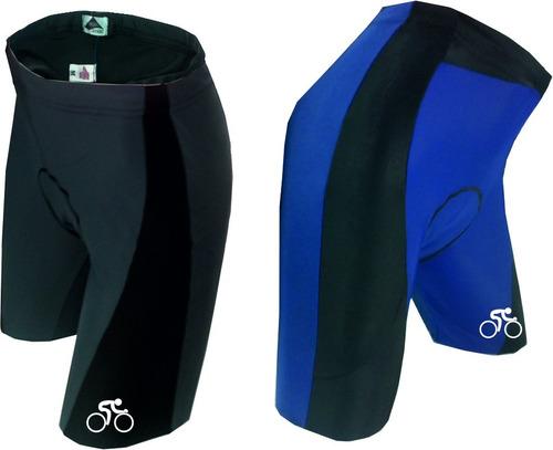 calza ciclismo de lycra con badana de gel , profesional