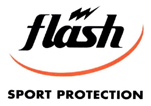 calza corta algodón + lycra flash running deportiva correr