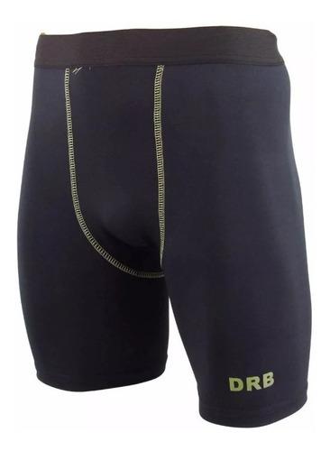calza corta drb térmica compresión ciclista fútbol rugby