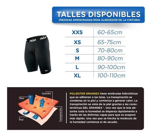 calza corta flash térmica compresión ciclista fútbol spandex