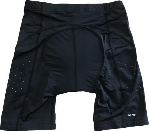 calza de ciclismo con badana hi-tec fch46 black