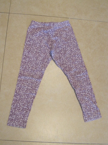 calza grisino chupin blanca y violeta talle 2 años