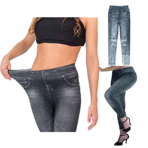 calza jeans mujer