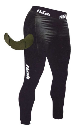 calza larga ciclista térmica flash badana protectora foam
