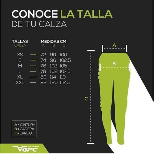 calza larga con protecciones arquero vgfc fivra