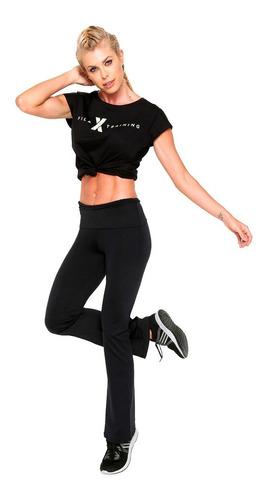 calza larga de dama fila deportiva cintura alta mvd sport