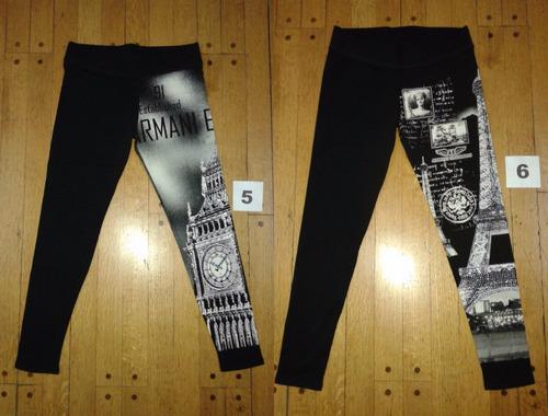 calza legging algodón