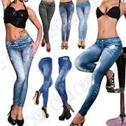 calza leggins slim tipo jeans tallas s m l