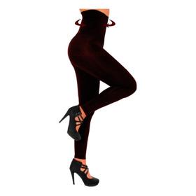 Calza Modeladora Chupin Faja 22cm 100% Lycra Mujer  Xs- Xx