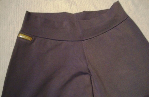 calza pantalon lycra tipo babucha  boaforma ,como nueva!t l