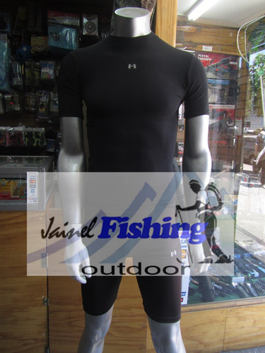 calza primera capa dry fit respirable outdoor jainel fishing