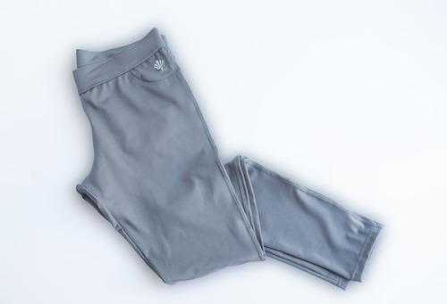 calza recta dama, polisap, color gris, s al xl