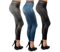 calza  slim tipo jeans tallas s m l