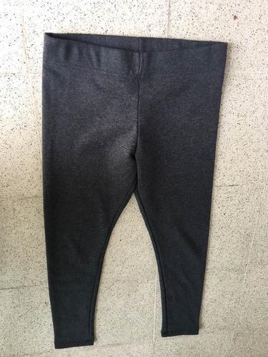 calza térmica  forever 21 color gris talle l