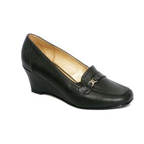 4dd221e6a87 Zapatos Mocasines Rojos Con Pasador Y Taco Chico - Calzado Mujer en ...