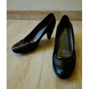 e57c003136c Zapatos De Cuero Taco 5 De Mujer - Calzado en Mercado Libre Perú