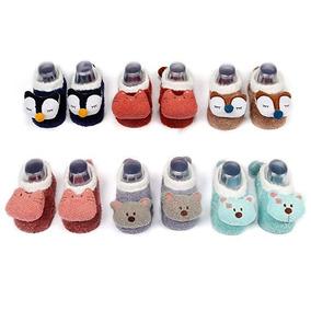 2b6b6e1989790 Calcetin Animales 3d Bebe  chico 0-1 Año   Mediano 1-2 Años
