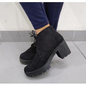 f8b58a2285d1f Ropa Botas Negras De Plataforma C - Calzado en Mercado Libre Perú