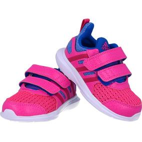 b8ee19ed710 Tenis adidas Bebe Para Correr Rosa Hyperfast Confort