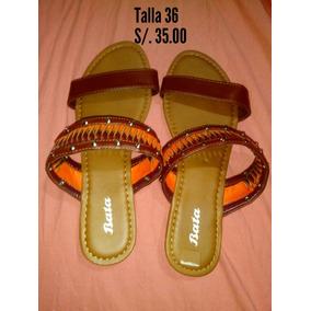 Ni En Mercado O Bata Sandalias Mujer Cuero Para Joven De Calzado EDWH9I2Y