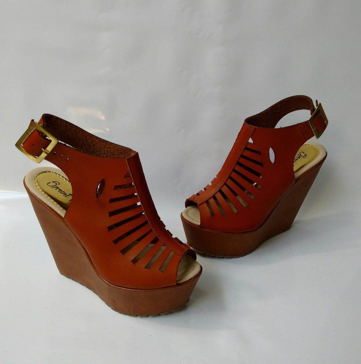 calzado alto elegante plataforma mujer en miel envío gratis. Cargando zoom. a80a218b872d