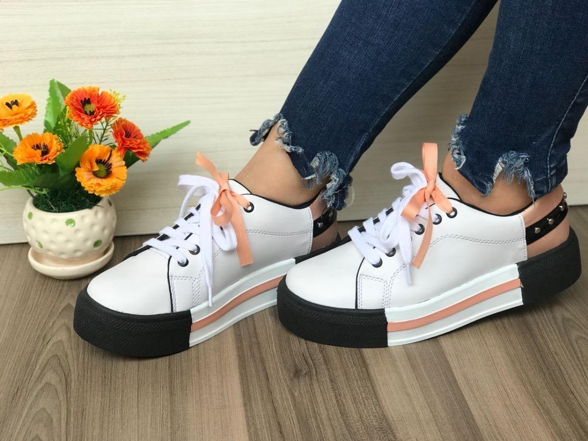 Juvenil Zapato 56 Tipo Calzado Dama Casual 000 Plataforma XxwHHSP