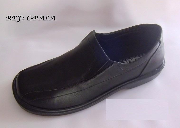 e395072ecda Calzado Colegial Caucho Diario Cuero Negro Envio Gratis -   59.300 ...