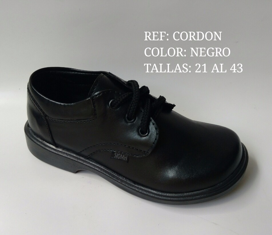 f135ba3a5e2 Cargando para zoom cuero escolar de niño colegial calzado cordón en q8OCEE