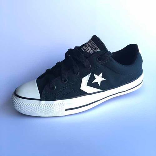 calzado converse star player negro/blanco del 35 al 45