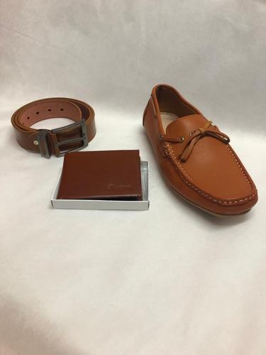 calzado correa billeteras (combo)  cuero precios de fabrica