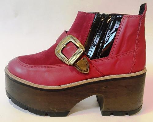 calzado dama de cuero