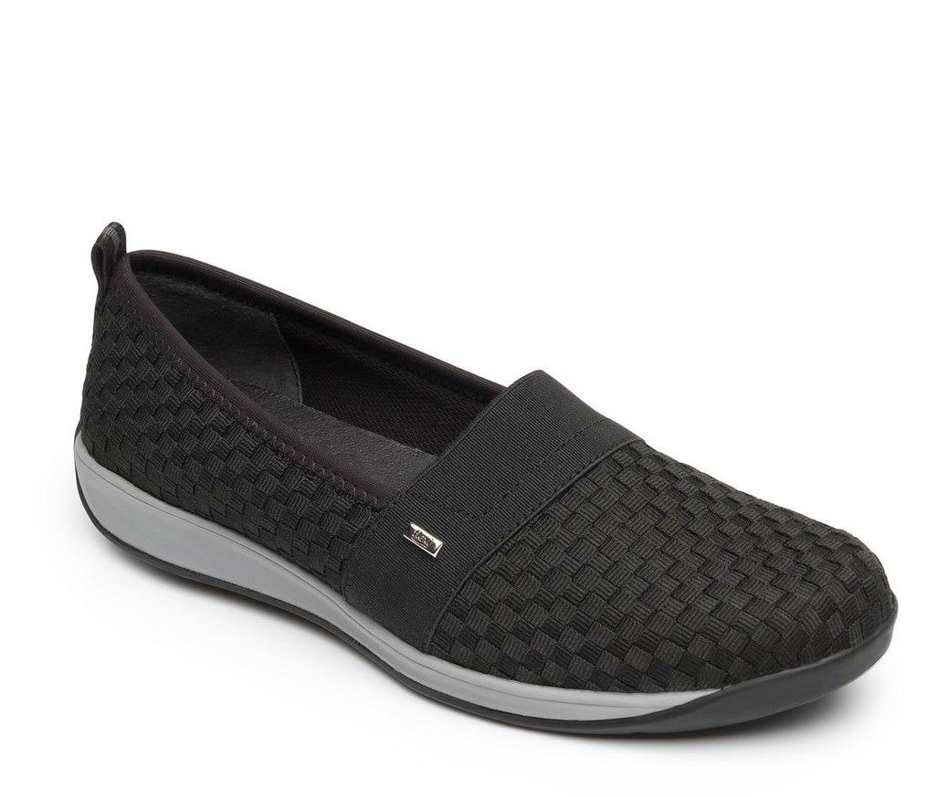 a37bc062b1cf7 calzado dama mujer sneaker marca flexi tejido negro comodo. Cargando zoom.