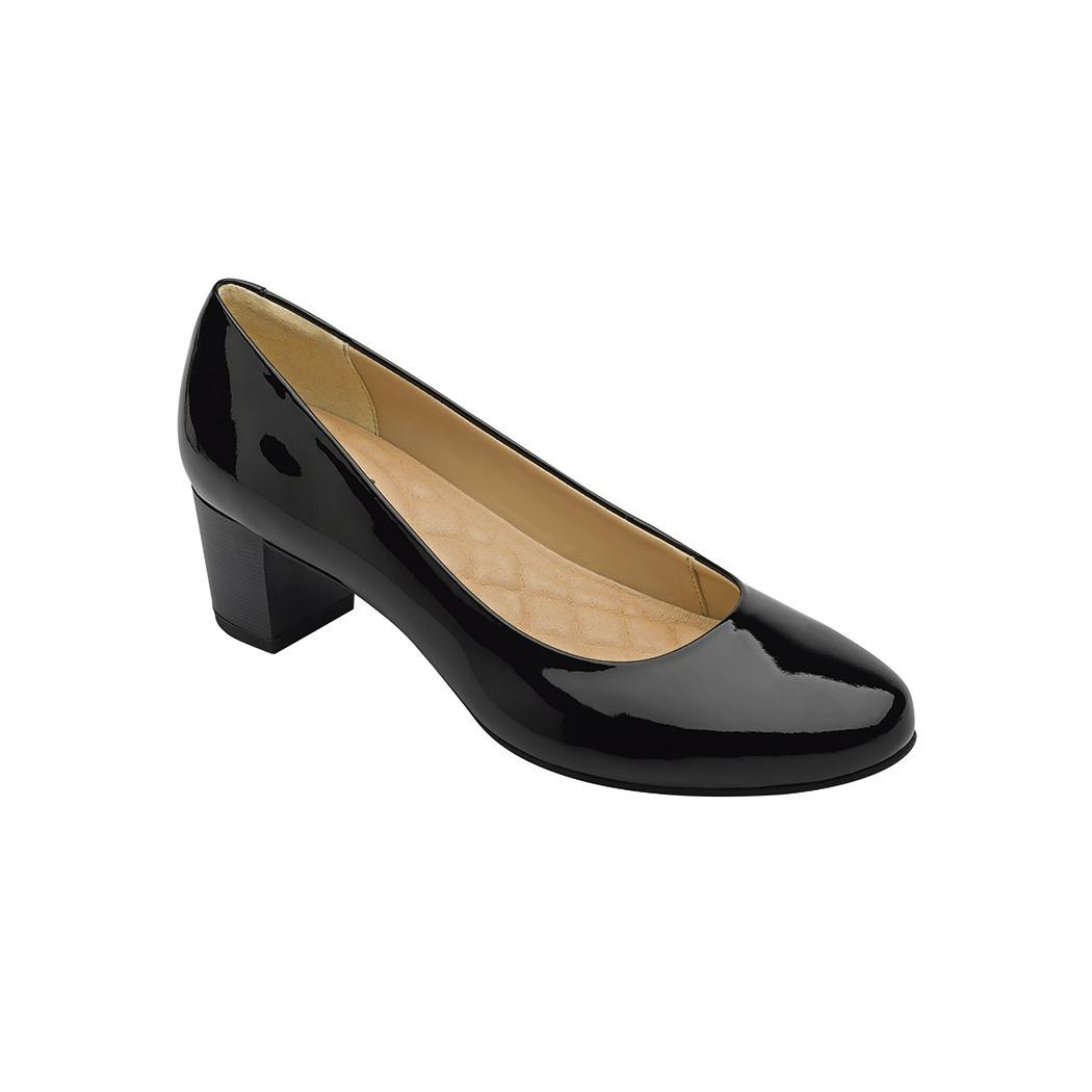 4d6fac14 calzado dama mujer zapatilla formal piel negro cómodo flexi. Cargando zoom.