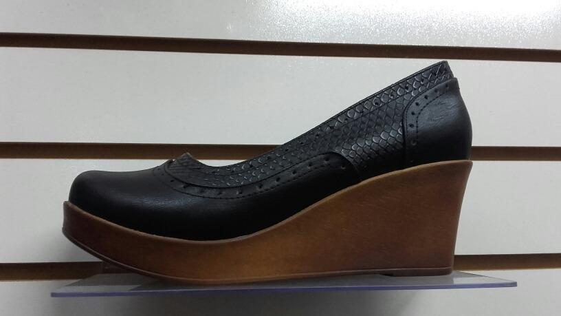 calzado de mujer tipo cuña con liga tipo mocasin. Cargando zoom. ca2924ebabb9