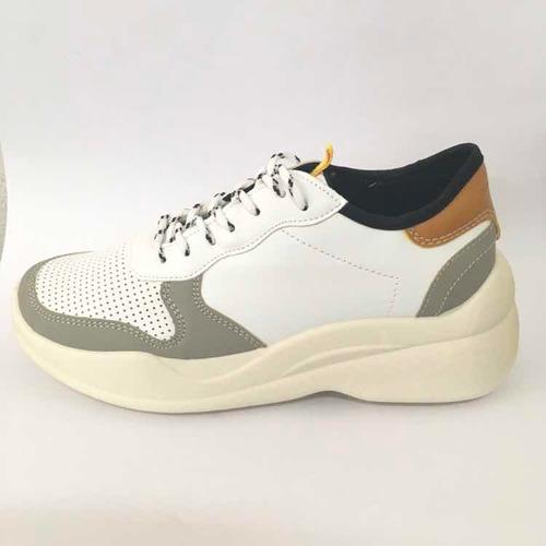 calzado de plataforma paddock everest blancos del 35/40